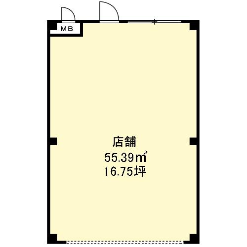 ガーデンヒルズフォー102間取図20170204