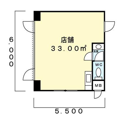 東上町林ビル101間取図20180610