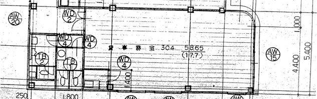 ボッカビル304間取図20180713
