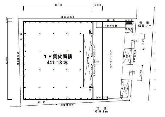 柏第3流通センター1F間取図20181112