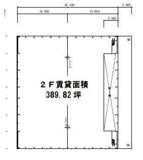 柏第3流通センター2F間取図20181112