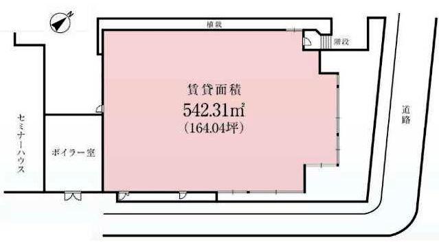 幕張セミナーハウス間取図20181113