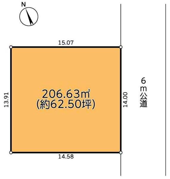 野田市木野崎1758-127売地図面20190118