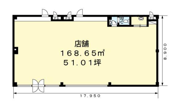 アイランドヒルズ101間取図20190215