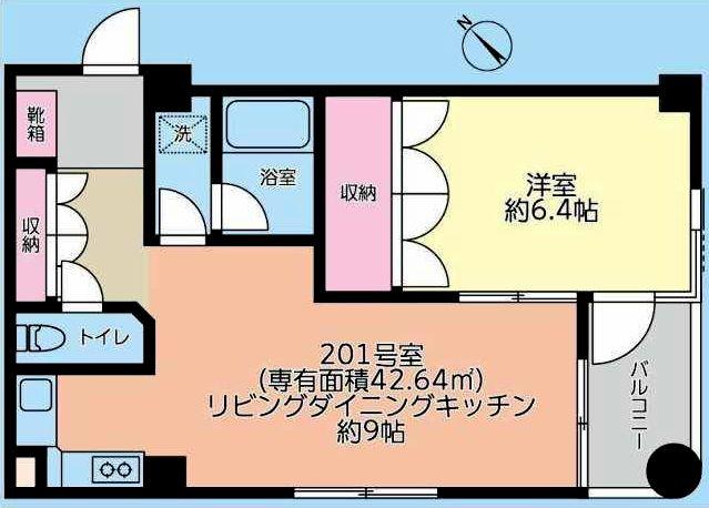 アーク柏中央201間取図20190211